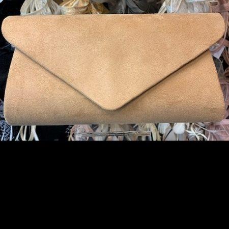 clutch envelope faux suede